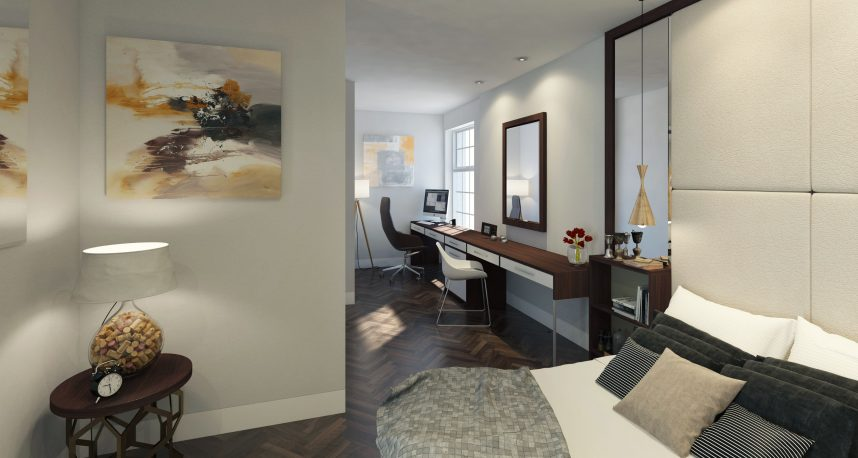 Typical 1 Bed Apartment Bedroom