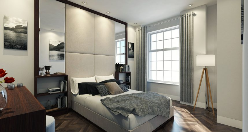 Typical 2 Bed Apartment Bedroom