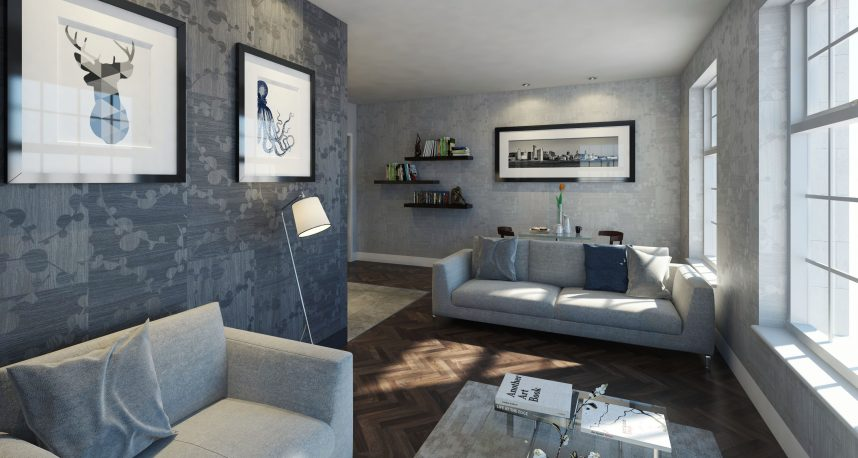 Typical 1 Bed Apartment Living Room